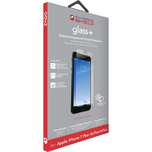 InvisibleShield Displayskydd (Glas) Plus Screen iPhone 8/7/6/6S/SE PLUS
