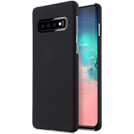 Melkco Rubberized Cover Samsung Galaxy S10 Black