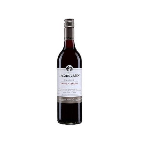 Jacobs Creek Shiraz Cabernet Red Wine 750ml