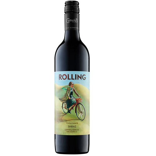 Rolling Shiraz Red Wine 750ml