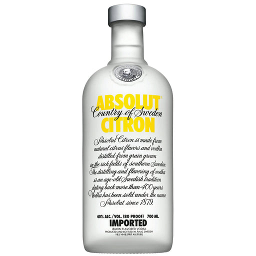 Absolut Vodka Citron Flavour 750ml_1