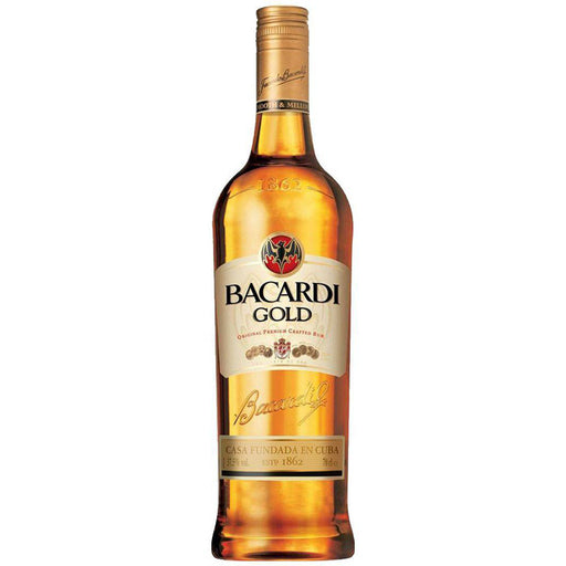 Bacardi Gold Rum 1 Litre