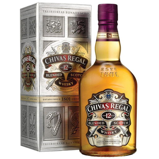 Chivas Regal 12yrs Blended Scotch Whisky 1Litre