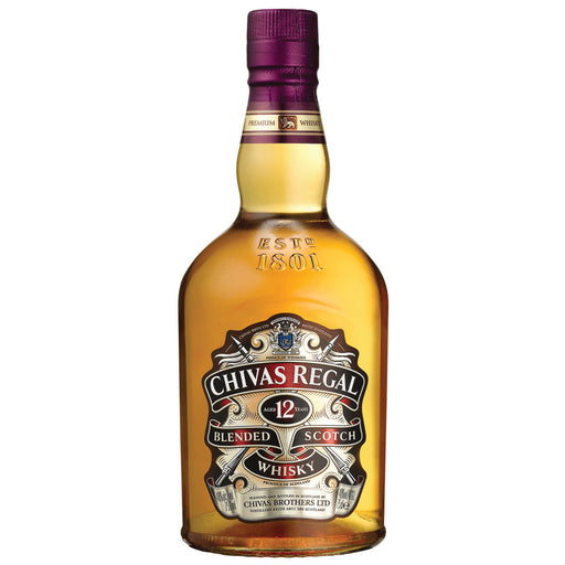 Chivas Regal 12yrs Blended Scotch Whisky 750ml