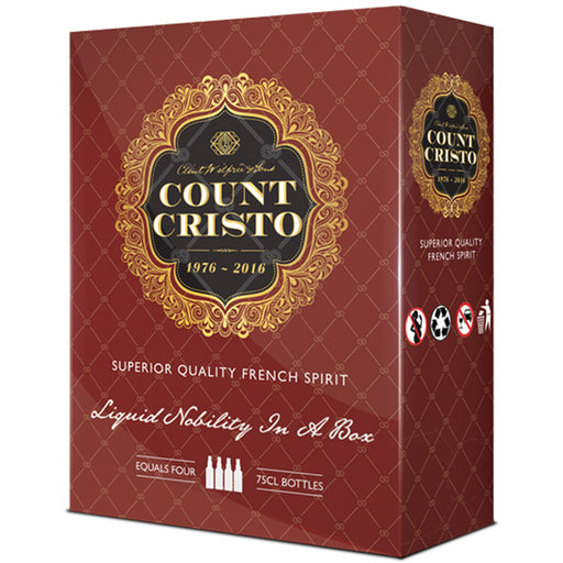 Count Cristo French Spirit Brandy 3 Litre