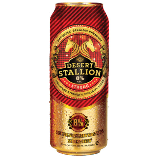 Desert Stallion Belgian Strong Beer 500ml (Pack of 24)