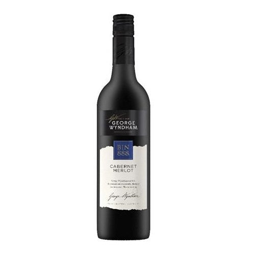 George Wyndham Bin 888 Cabernet Merlot Red Wine 750ml