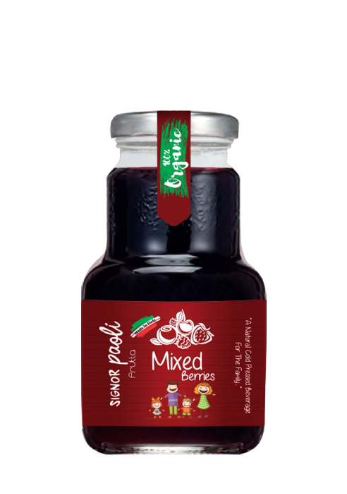 Signor Paoli Mixed Berries 200ml (pack of 24)