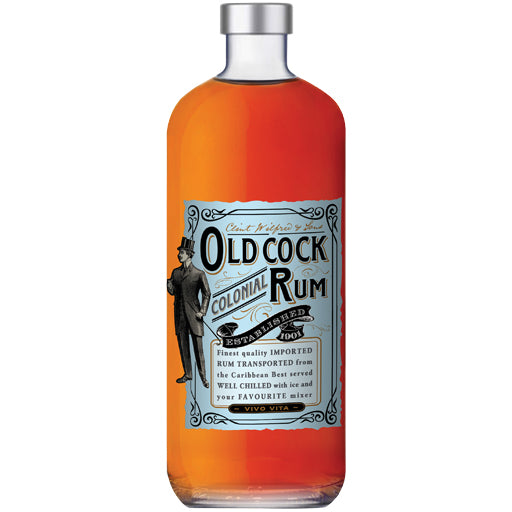 Old Cock Colonial Rum 700ml