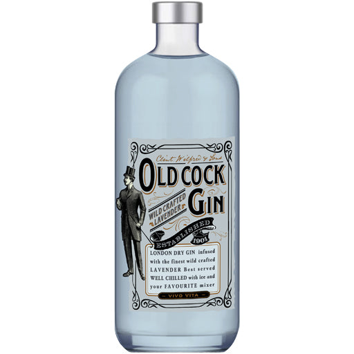 Old Cock Lavender Gin 700ml