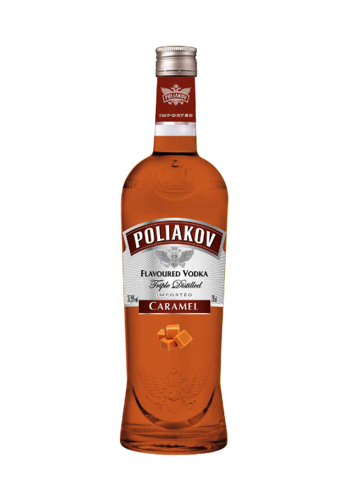 Poliakov Vodka Caramel Flavour 700ml