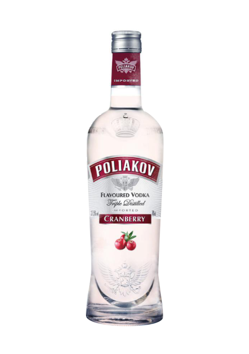 Poliakov Vodka Cranberry Flavour 700ml