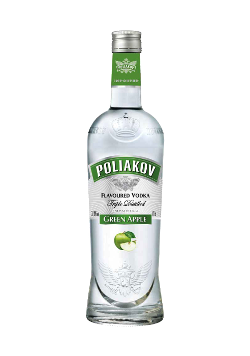 Poliakov Vodka Green Apple Flavour 700ml