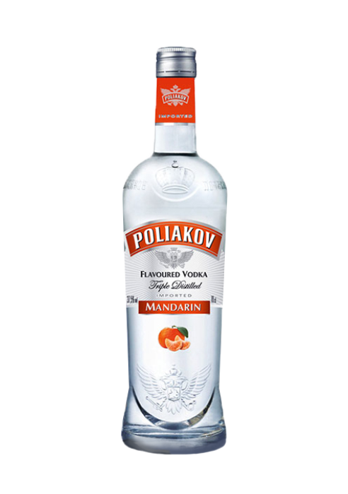 Poliakov Vodka  Mandarin Flavour  700ml