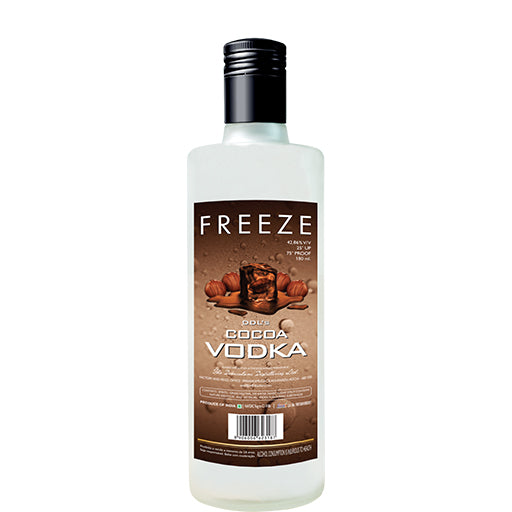 DDL's Freeze Vodka Cocoa Flavour 180ml