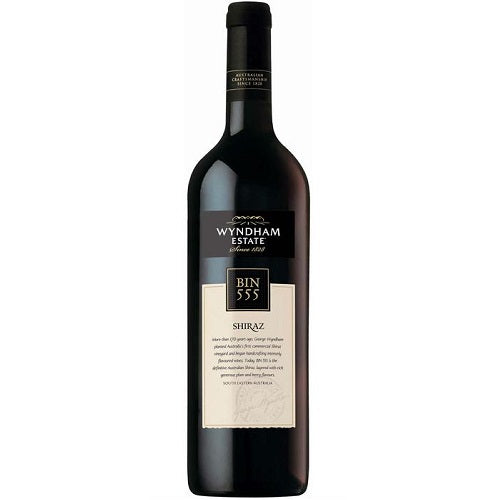 Wyndham Estate Bin 555 Shiraz Red Wine 750ml