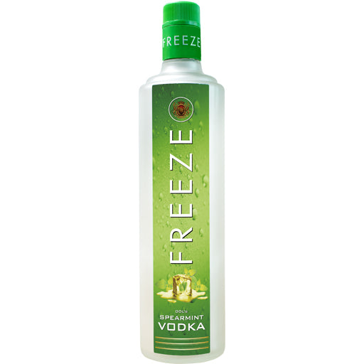 DDL's Freeze Vodka  Spearmint Flavour  750ml