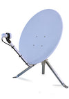 TravelSat SP75 White Mobile Satellite Dish - LNB Tripod & Carry Bag Included