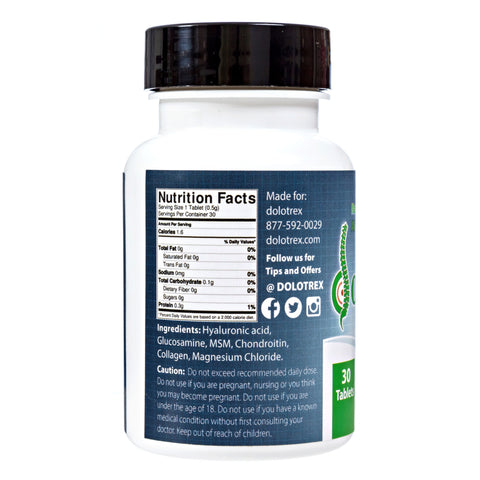 Image of All Natural Joint Pain Relief with Glucosamine, Magnesium Chloride, Collagen and MSM