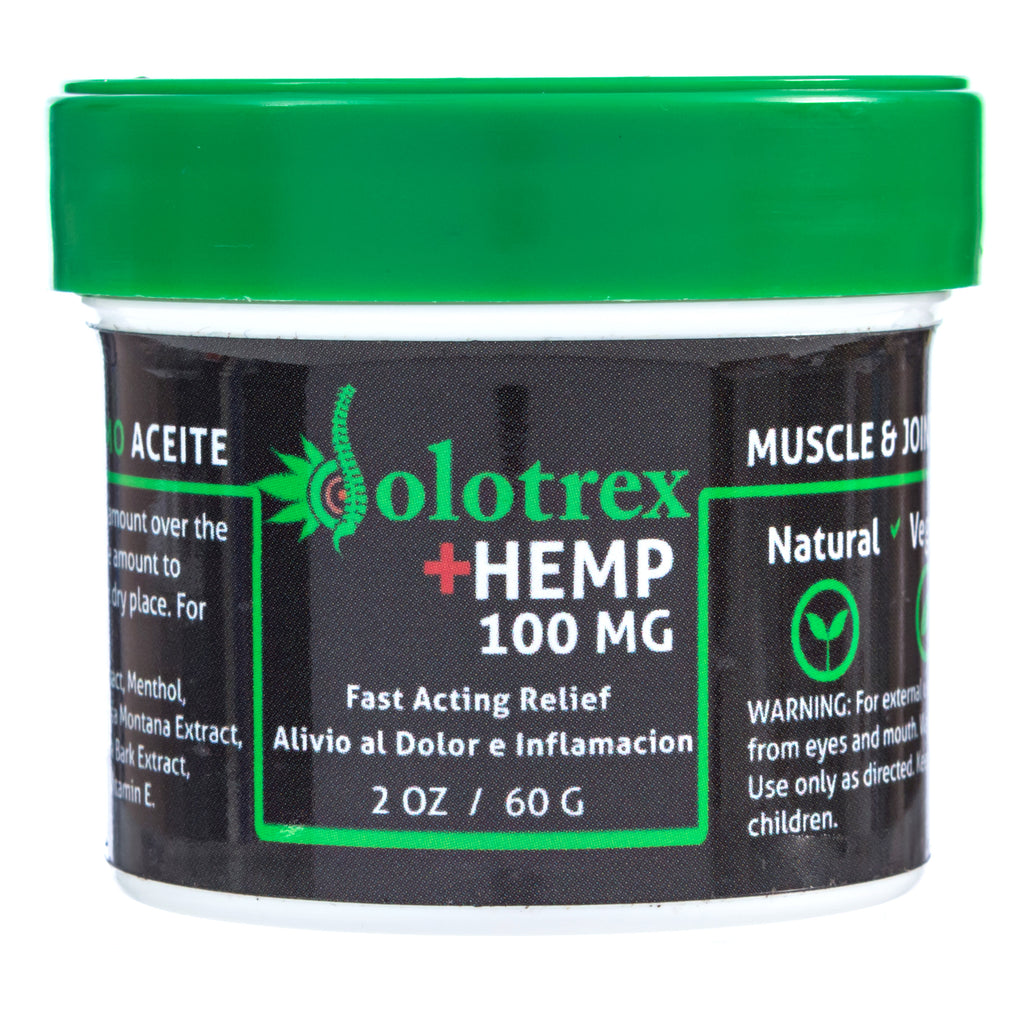 Dolotrex CBD Hemp Pain Relief Gel 100mg Extra Fast Acting