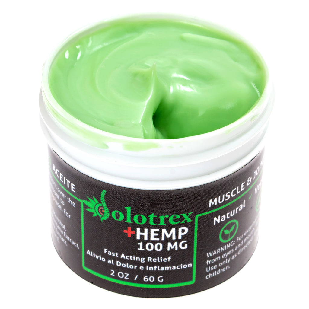 Dolotrex Fast Acting HEMP Relief Soothing Ointment CBD Topical (100mg CBD) - 2oz