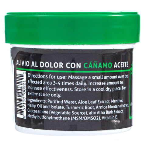 Image of Dolotrex Fast Acting HEMP Relief Soothing Ointment CBD Topical (100mg CBD) - 2oz