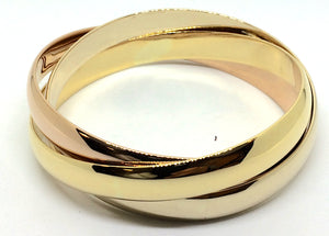 Three-Tone Gold Trinity bracelet