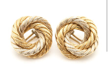 Knot of Love pair of earrings