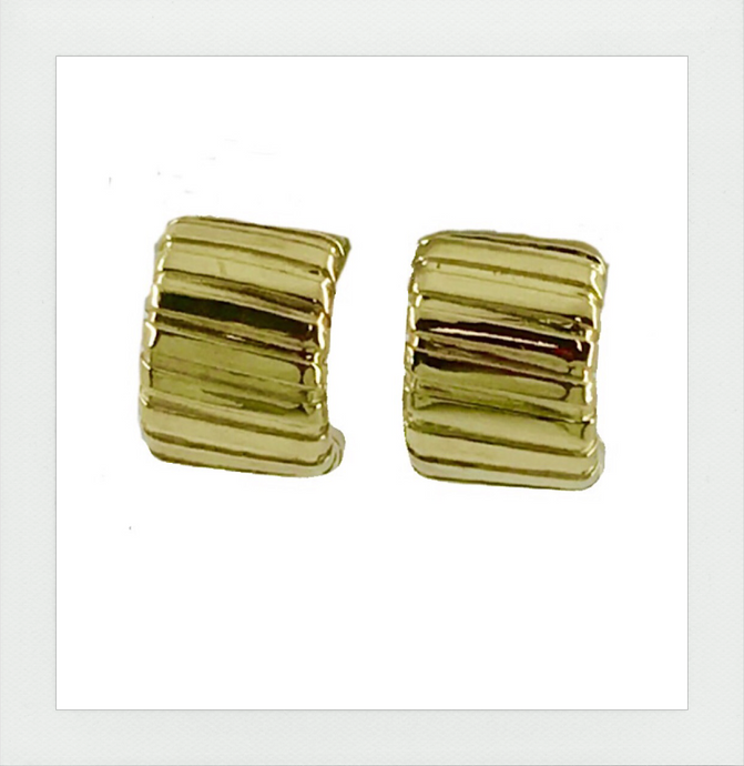 Classic tubogas earrings