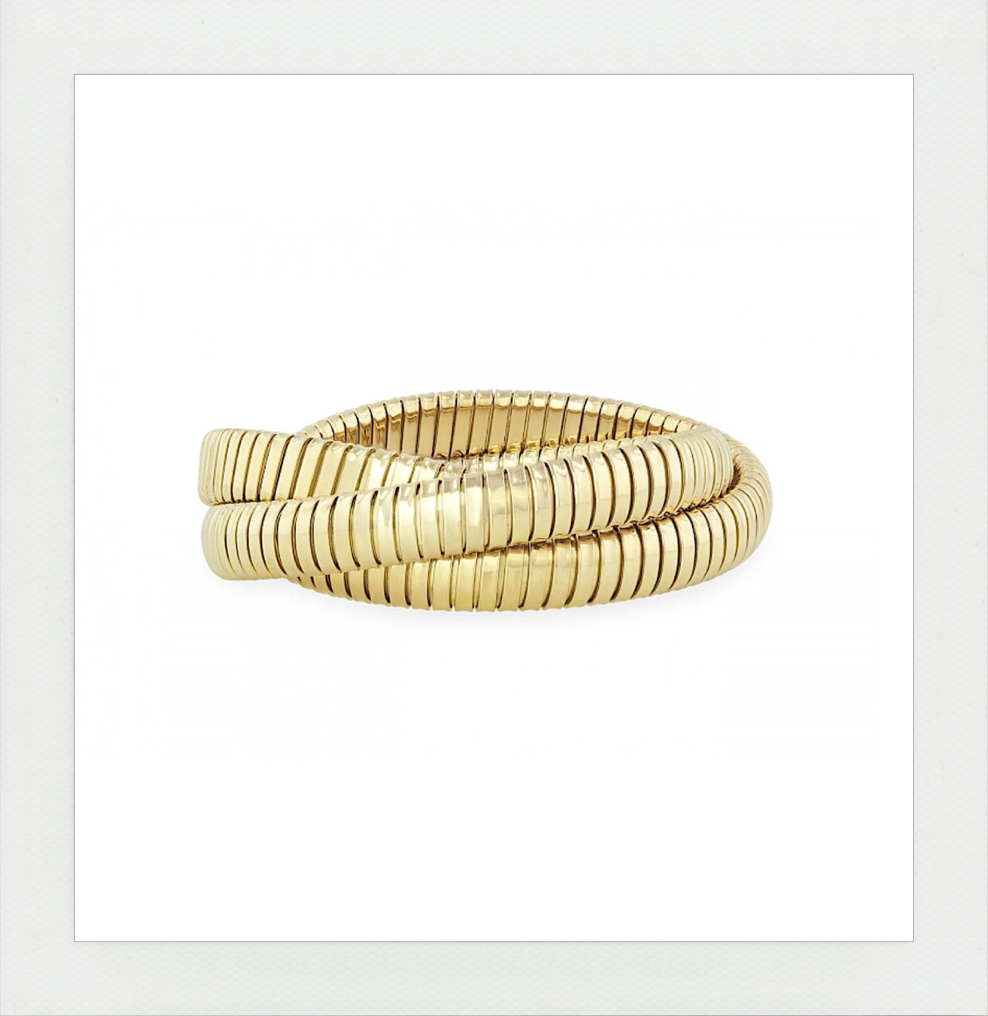 Rolling Bracelet in Yellow Gold the Original made in Italy