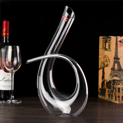High Quality Crystal Glass Wine Aerator