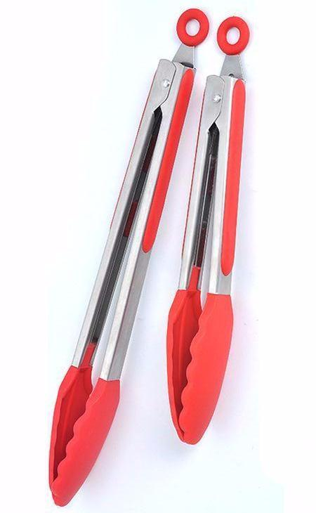 Stainless Steel Silicone Kitchen Tong
