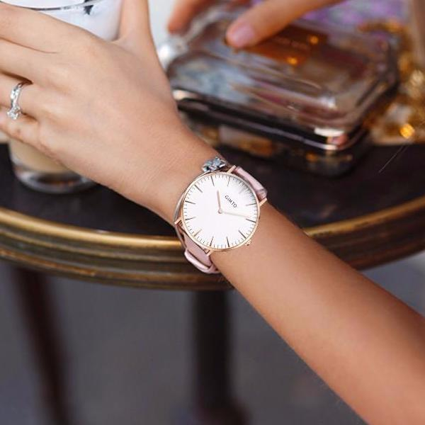 Women's Modern Leather Watch