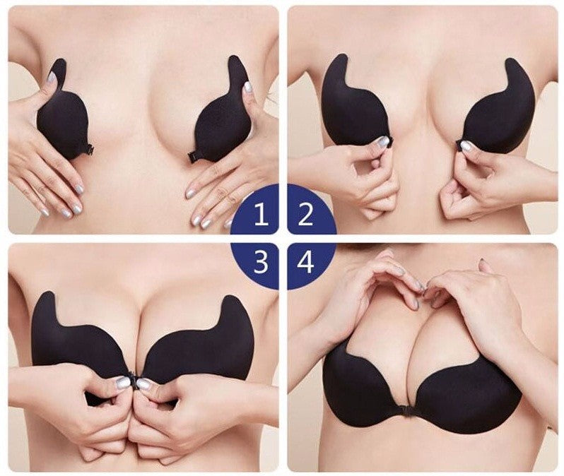 Betty Push Up Invisible Bra