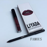 Matte Lip Liner and Lipstick Kit