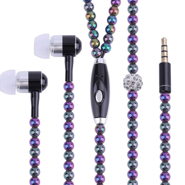 Jewelry Headset with Microphone