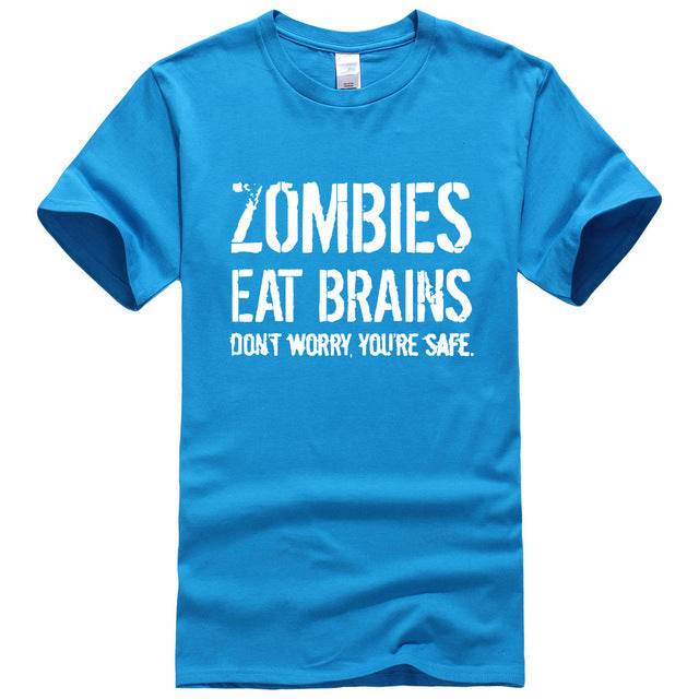 """Zombies Eat Brains"" T-Shirt"
