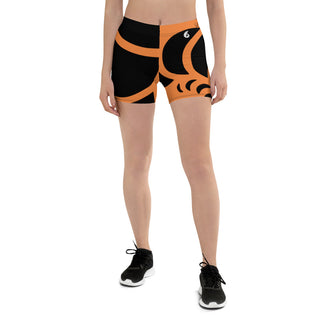 Short Femme AllSportAqua Couleurs Lagon NAUTILE ORANGE - Océan