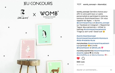 Womb concept Z comme Zanimaux