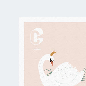 Affiche C comme Cygne