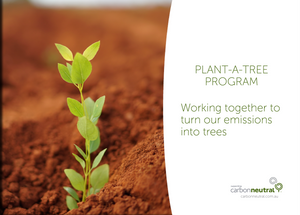 Partner in Climate Action + Plant-A-Tree