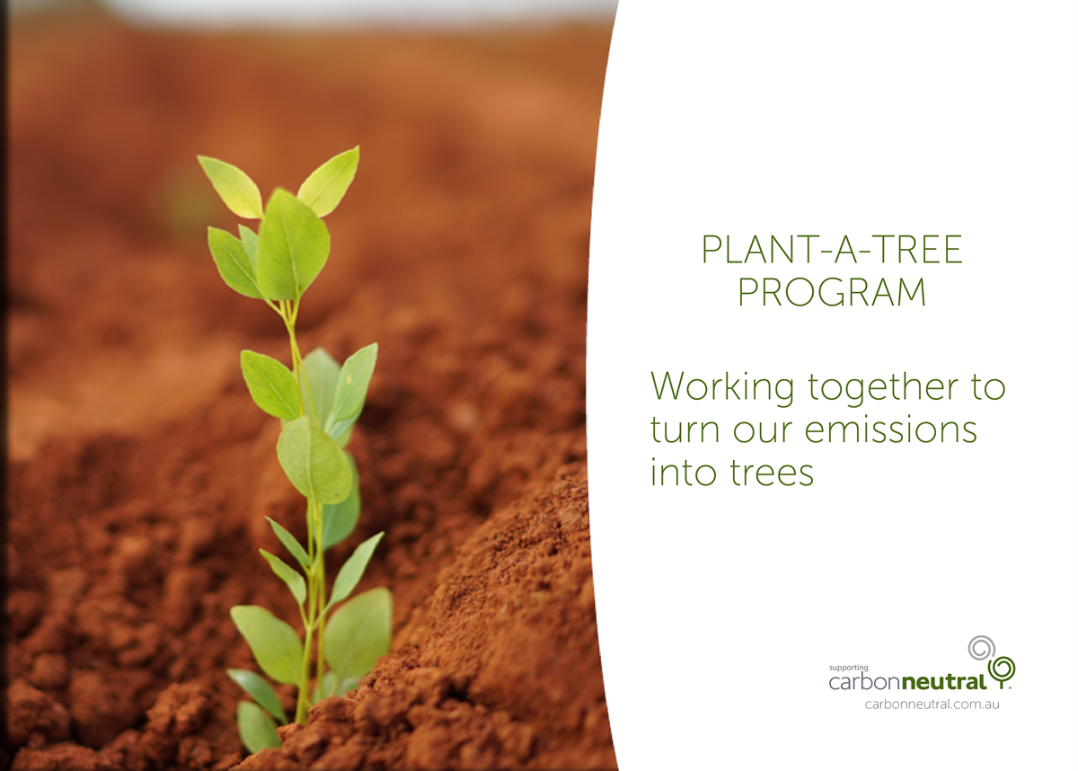 Carbon Neutral - Plant a Tree Program - BioConfetti Australia