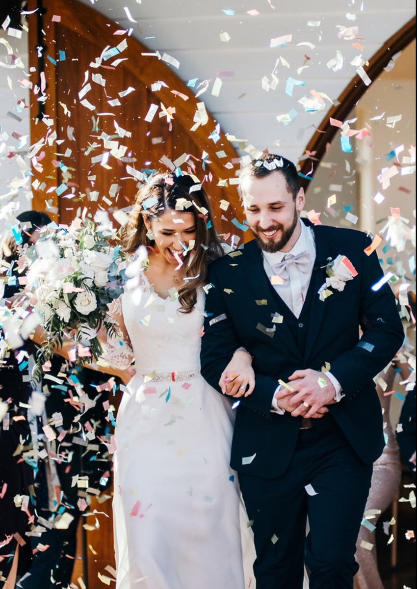 Bio Confetti Wedding Confetti Throw