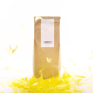 Yellow Eco Friendly Confetti | BioConfetti Australia