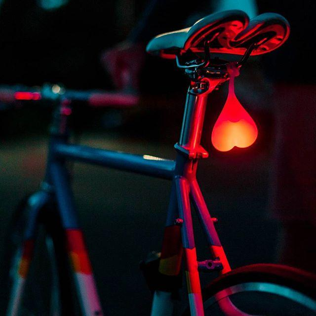 Bike Balls. Hilarious LED Bicycle Lights