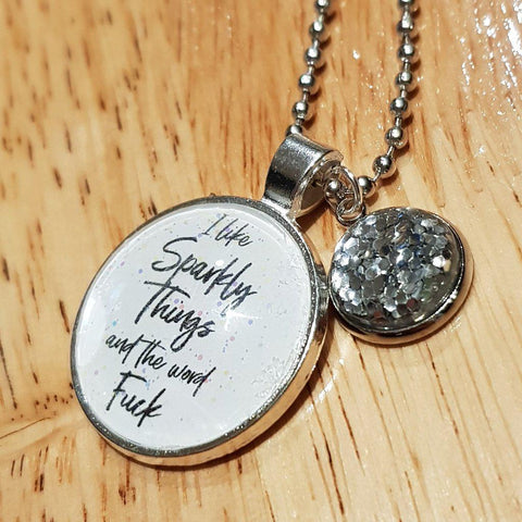 Image of I Like Sparkly Things Necklace-Far Kew Emporium