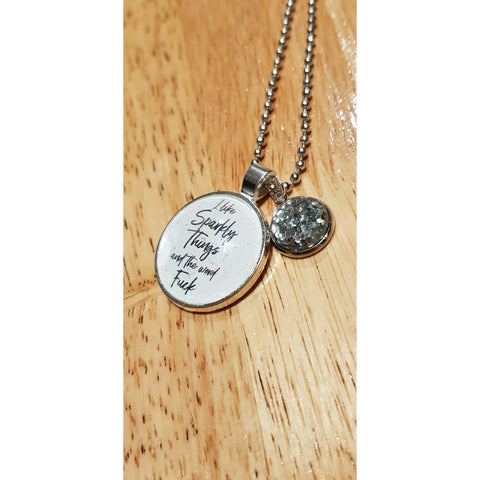 Image of I Like Sparkly Things Necklace
