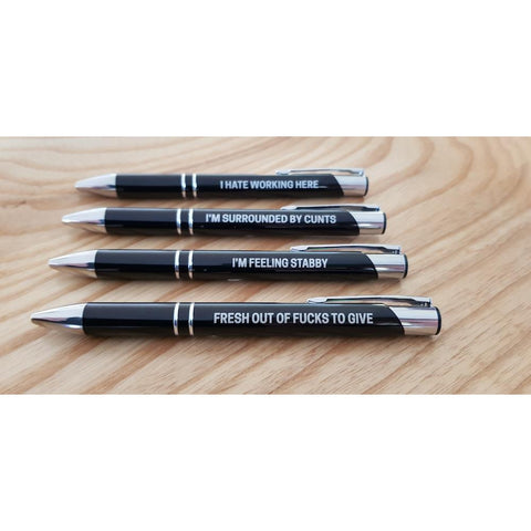 The Ultimate Sweary Pen Pack-Far Kew Emporium