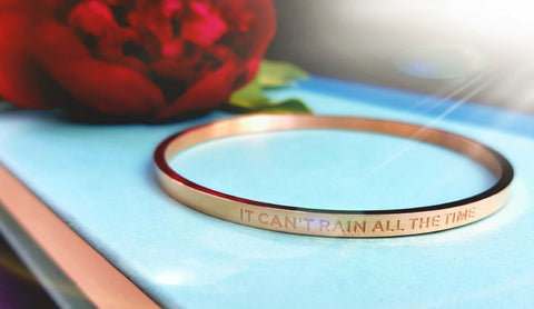 Image of It Can't Rain All The Time Bangle