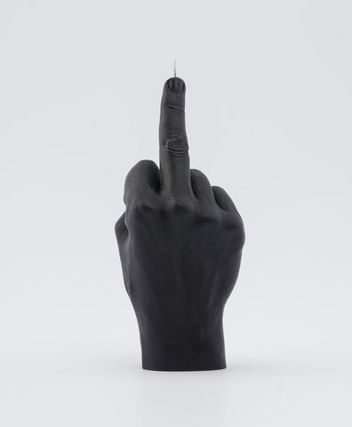 Fuck You Middle Finger Candle